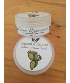 Regenerierende und Reparierende Creme mit nativem Olivenöl extra und mit Feigenkaktusextrakt