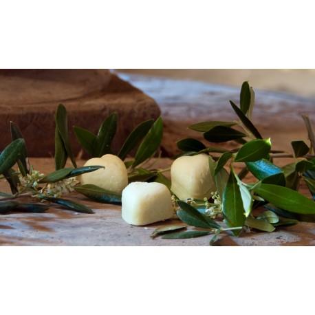 Cuore di Sapone all'Olio Extra Vergine di Oliva ed Estratto dell'Oliva