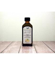 Körperpflege–Öl mit nativem Olivenöl extra und Zitrone