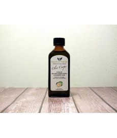 Body Oil made ​​with Extra Virgin Olive Oil and Green Mandarine