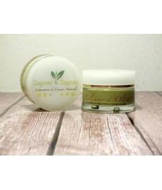 Glättendes Nachtöl für die Augenpflege mit extra nativem Olivenöl und natürlichem Zitronenöl