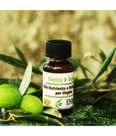 Reinforcing and Nourishing Nail Oil with Extra Virgin Olive Oil and Grapefruit